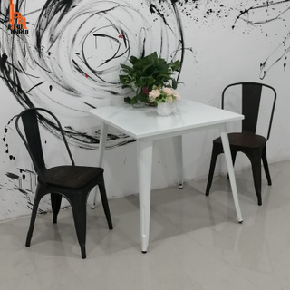H JINHUI Restaurant Table And Chair Sets Standard Size for Sale Direct From Factory