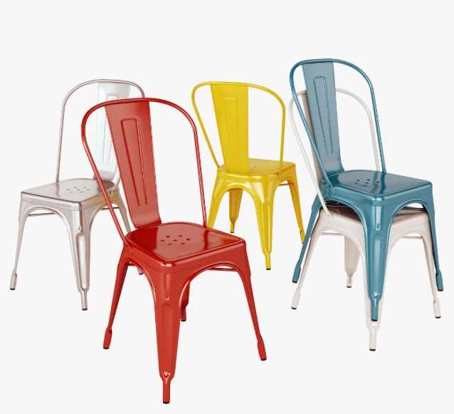 Different Packing Methods of Metal Chairs