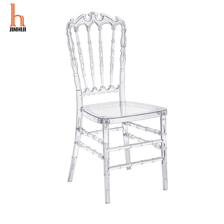 H Jinhui Commerical Seating Products Clear Napoleon Chiavari Chairs