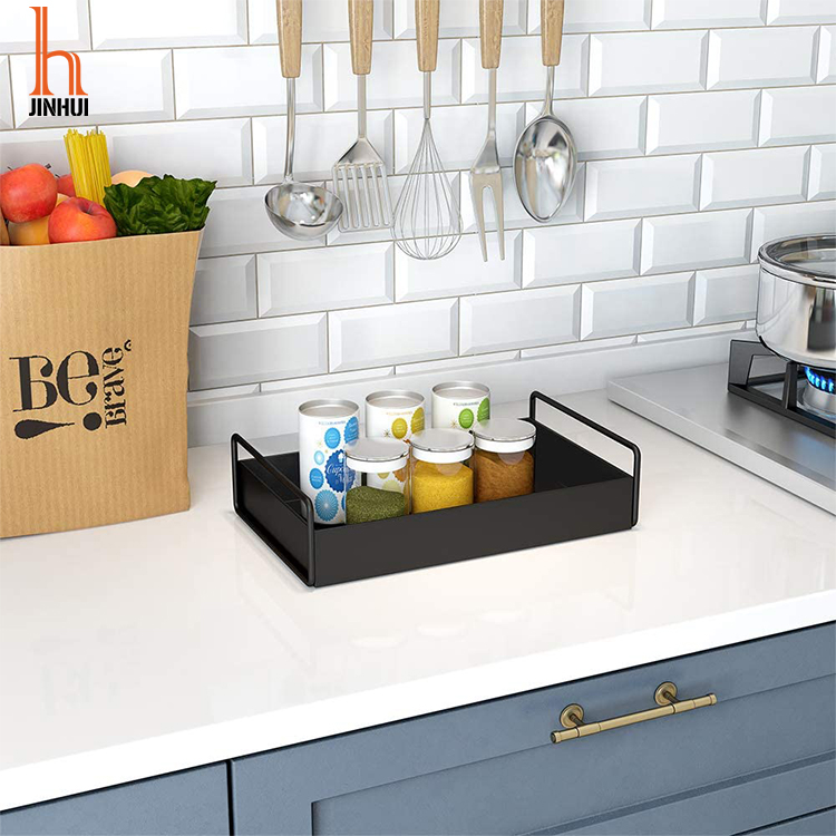 H JINHUI Bathroom Storage Kitchen Countertop Storage Shelf