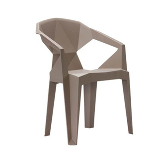H-jinhui Modern Design Dining Plastic Food Stall Chair